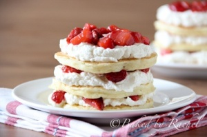 Strawberry Shortcake Pancakes